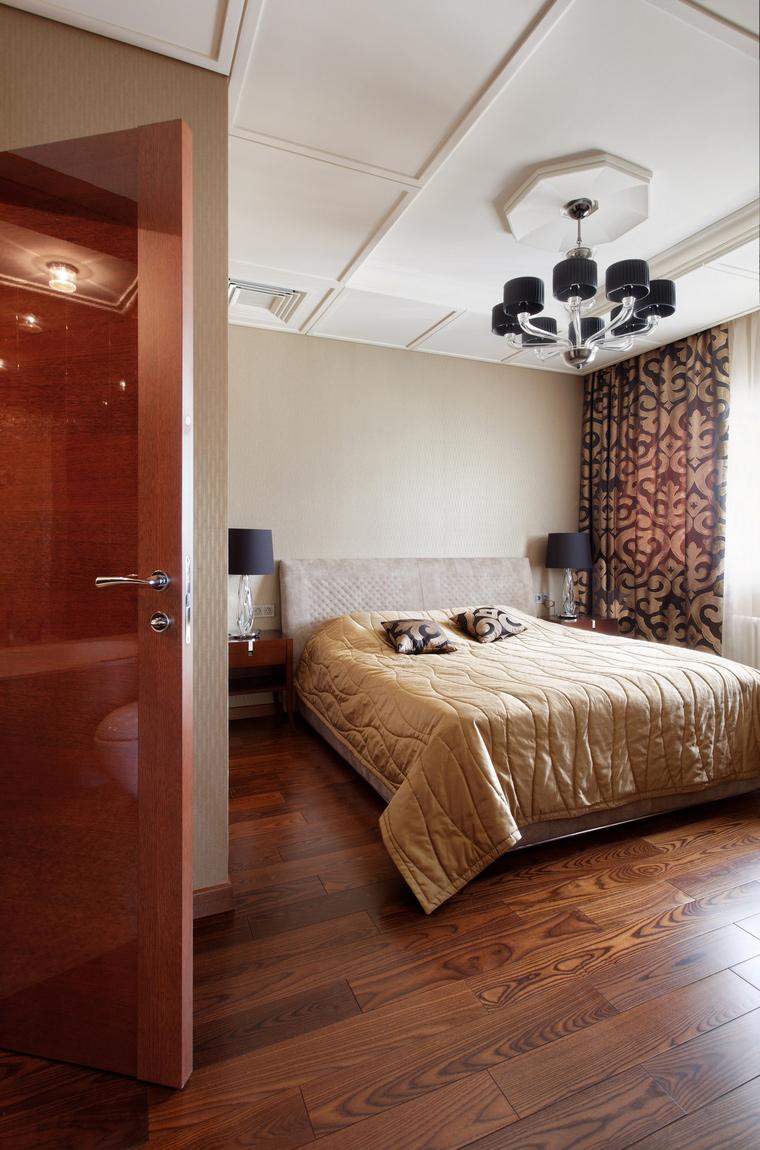 интерьер спальни - фото № 54258
