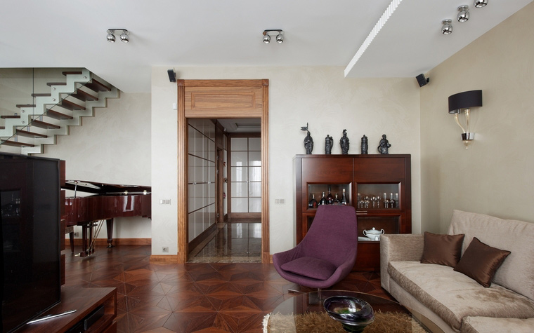 Фото № 54245 гостиная  Квартира
