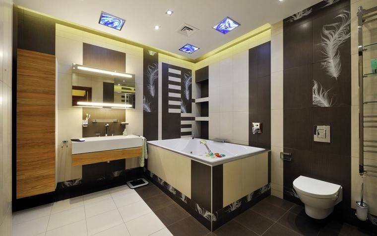 Квартира. ванная из проекта , фото №54361