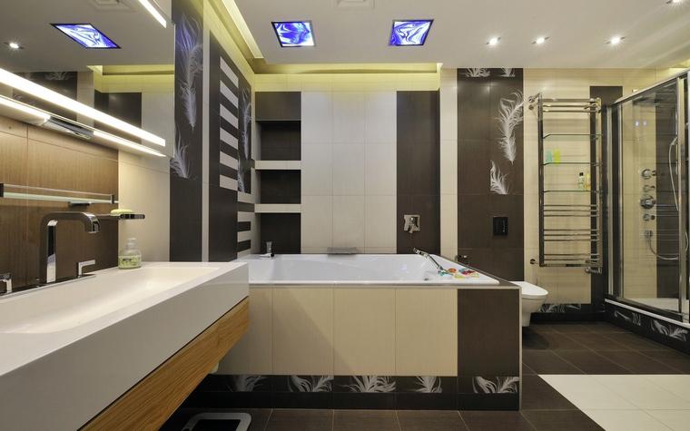 Квартира. ванная из проекта , фото №54362