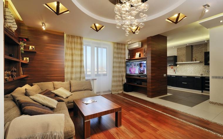 Квартира. гостиная из проекта , фото №54353