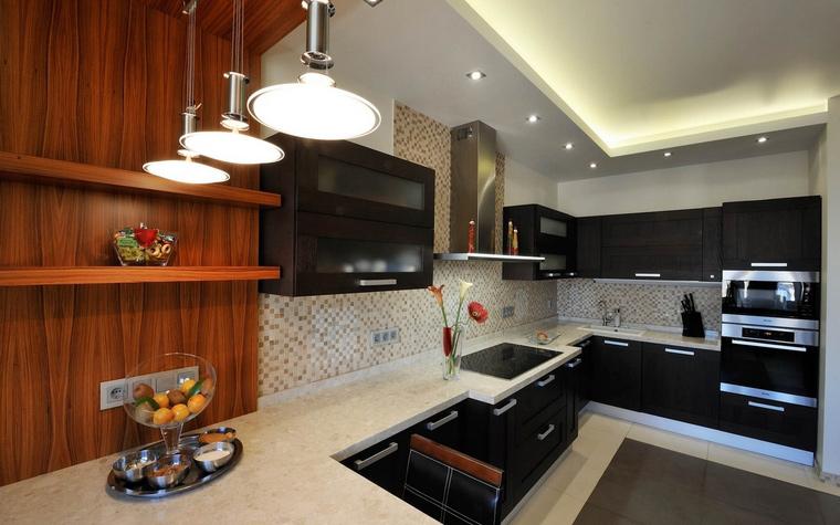 Фото № 54355 кухня  Квартира