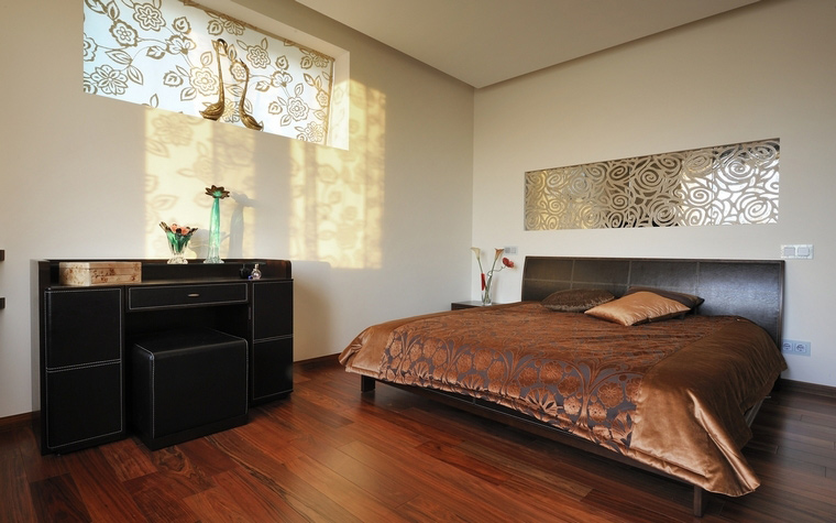 интерьер спальни - фото № 54357