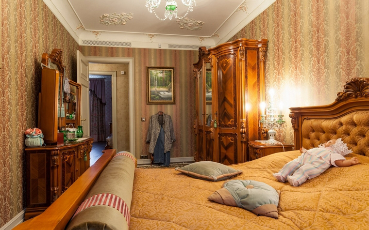 интерьер спальни - фото № 54450