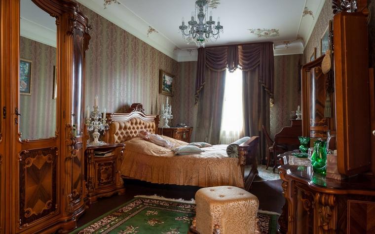интерьер спальни - фото № 54451