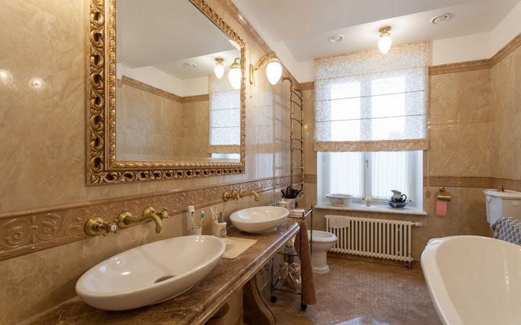 Квартира. ванная из проекта , фото №54460