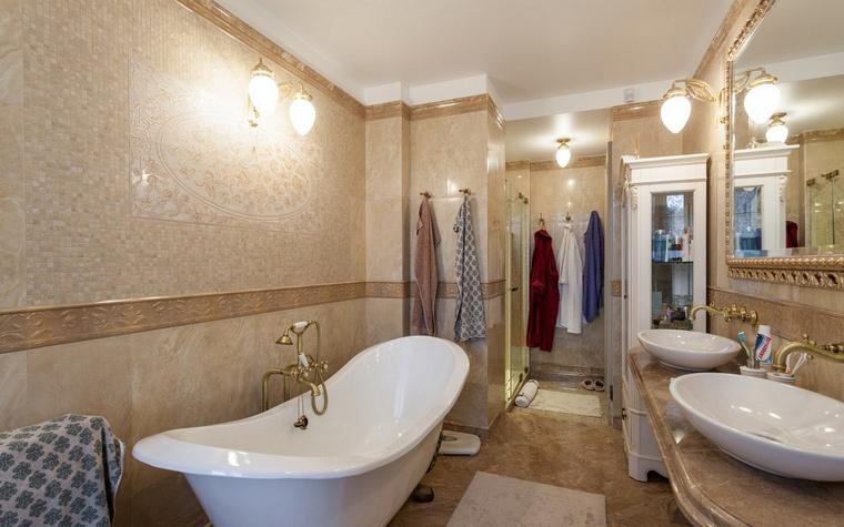 Квартира. ванная из проекта , фото №54461