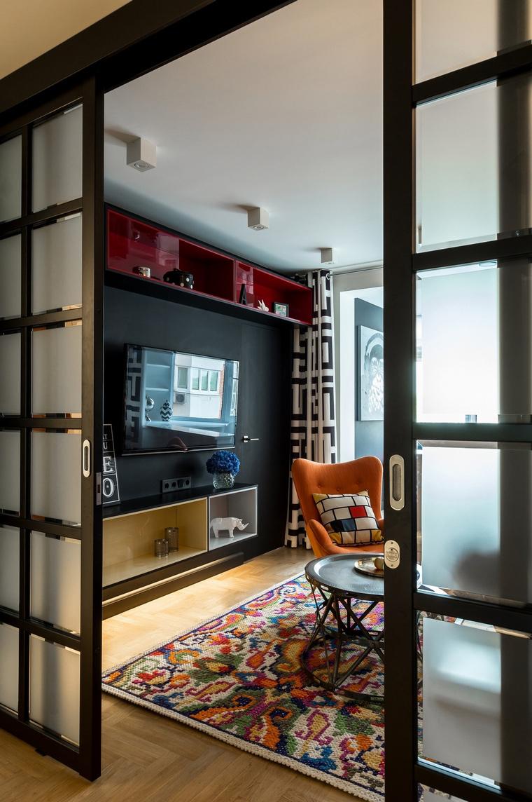 интерьер гостиной - фото № 54559