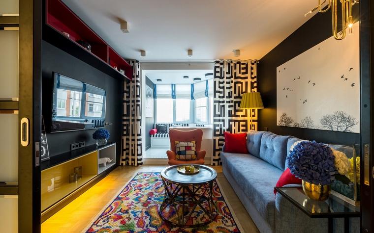 Фото № 54556 гостиная  Квартира