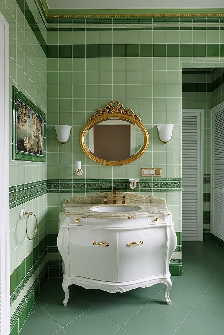 Фото № 54703 ванная  Квартира
