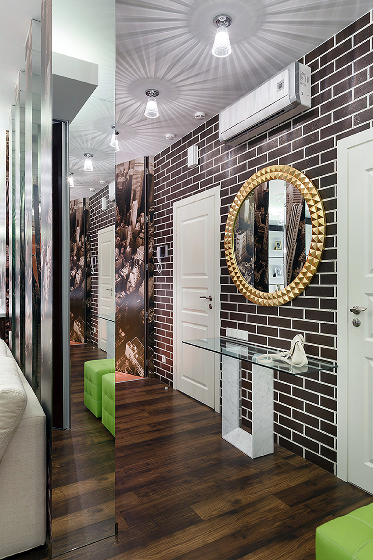 22 фото отделки прихожей и коридора декоративным камнем