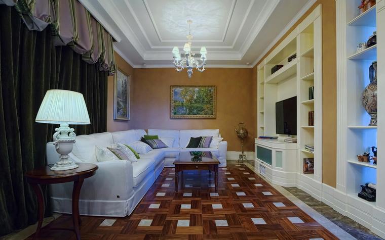 Фото № 54826 гостиная  Квартира