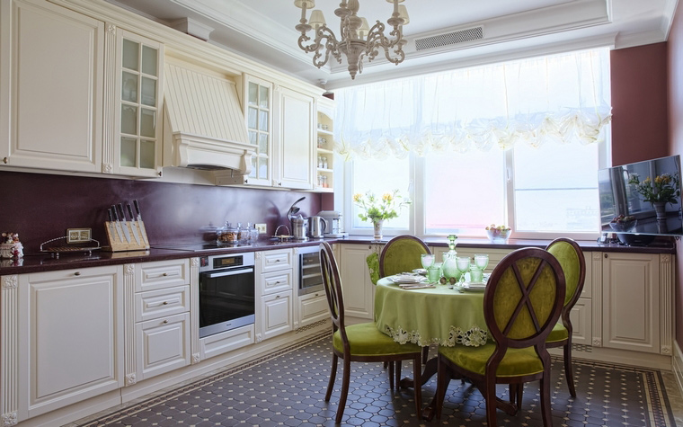 Фото № 54830 кухня  Квартира