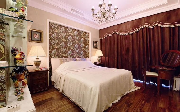 Фото № 54825 спальня  Квартира