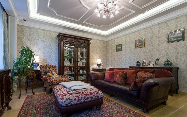 интерьер гостиной - фото № 54905