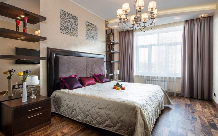 Фото № 54928 спальня  Квартира