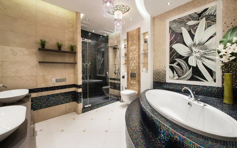 Квартира. ванная из проекта , фото №54930