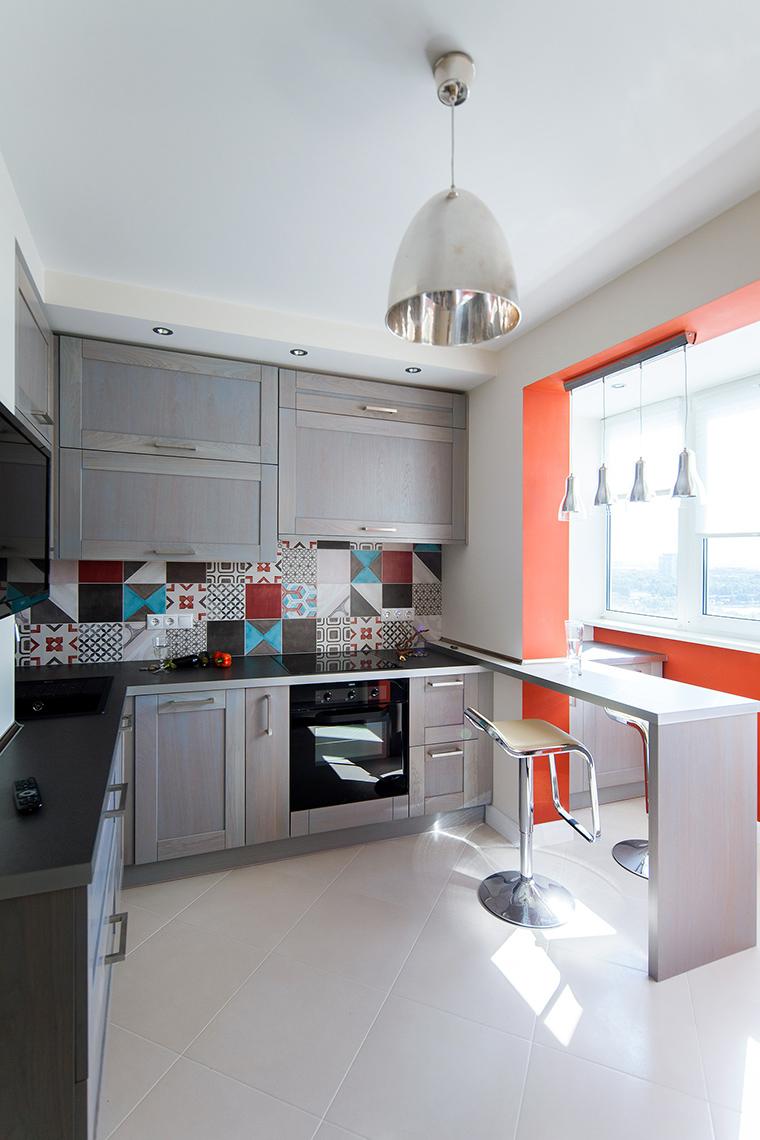 Квартира. кухня из проекта , фото №55043