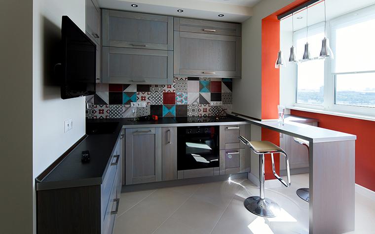 Квартира. кухня из проекта , фото №55044