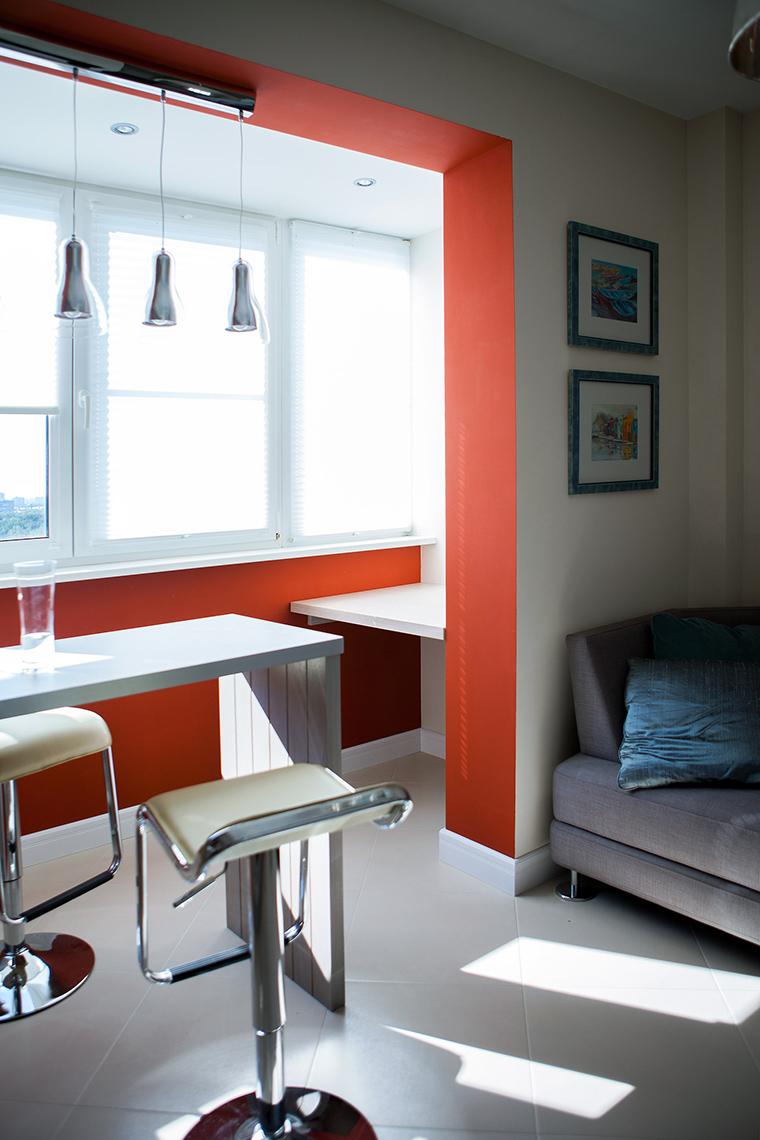 Квартира. кухня из проекта , фото №55037