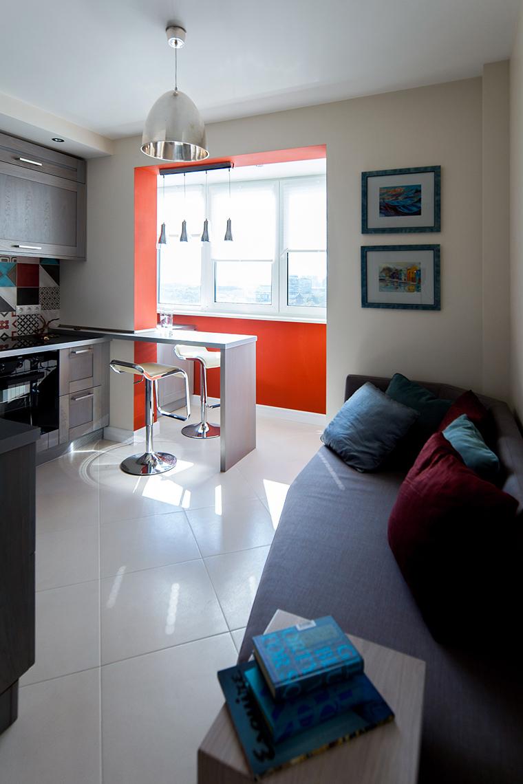 Квартира. кухня из проекта , фото №55041