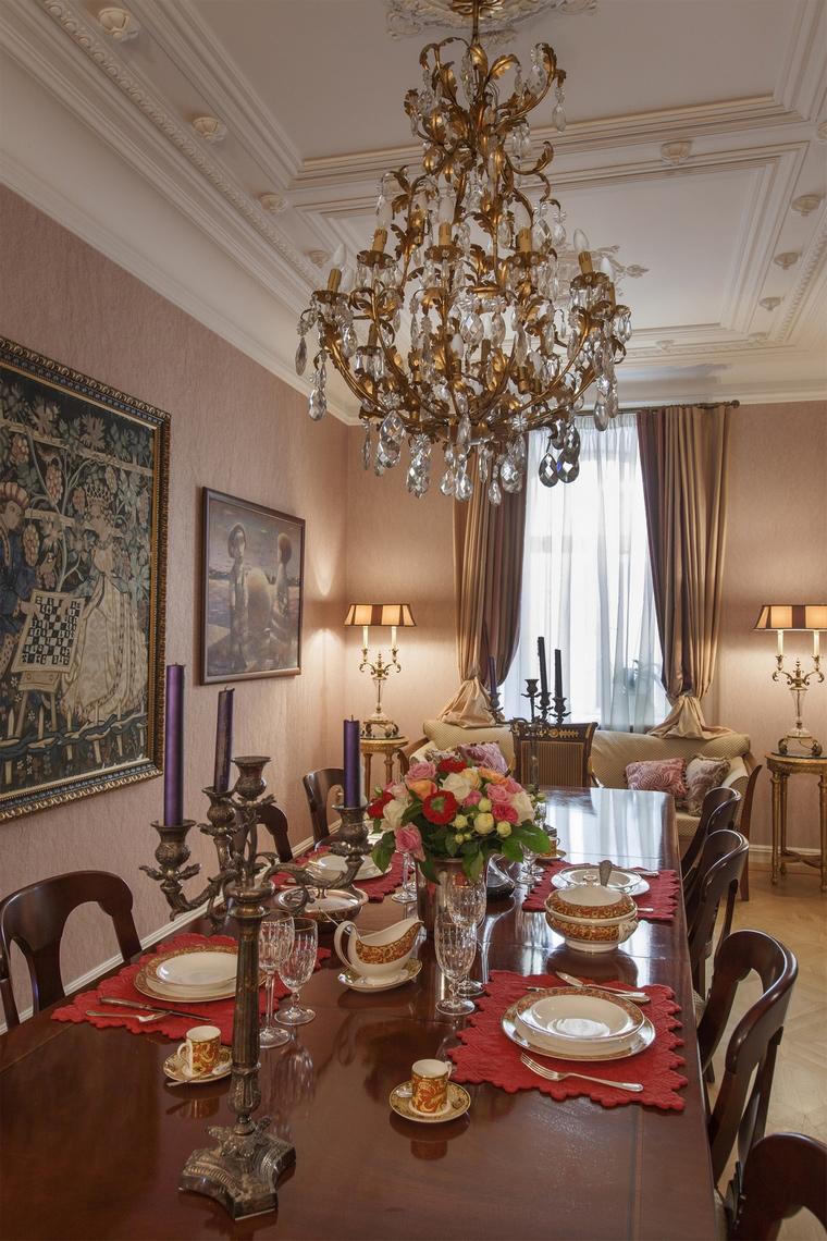 Квартира. столовая из проекта , фото №55048