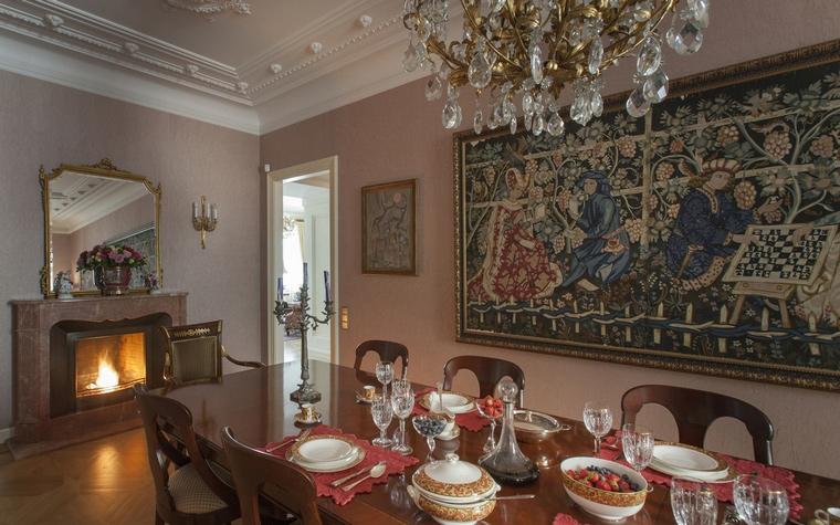 Квартира. столовая из проекта , фото №55047