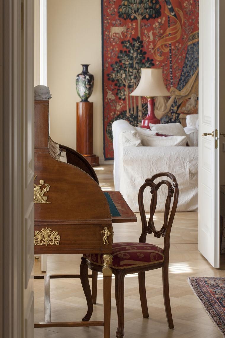 Фото № 55052 спальня  Квартира
