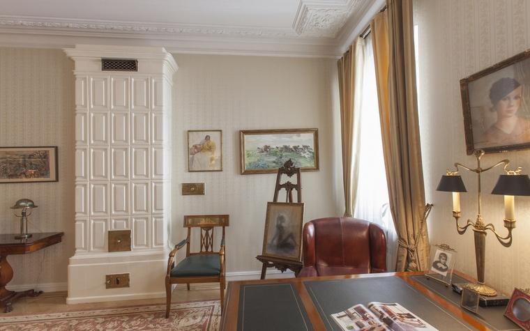 Квартира. кабинет из проекта , фото №55051