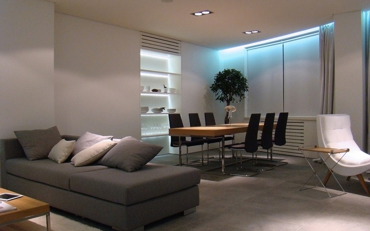 Квартира. столовая из проекта , фото №55128