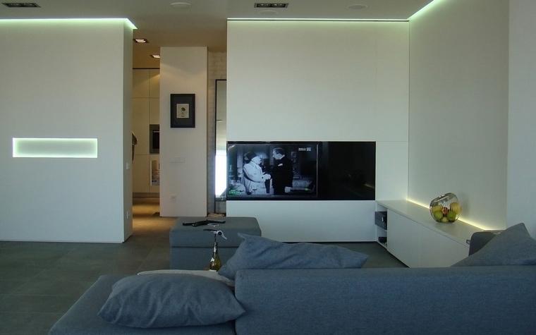 Квартира. гостиная из проекта , фото №55124