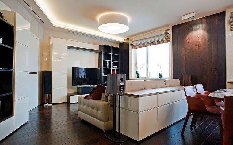 Квартира. гостиная из проекта , фото №55195