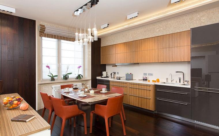 Квартира. кухня из проекта , фото №55196