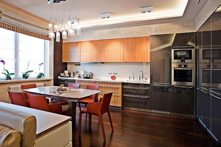 Квартира. кухня из проекта , фото №55197