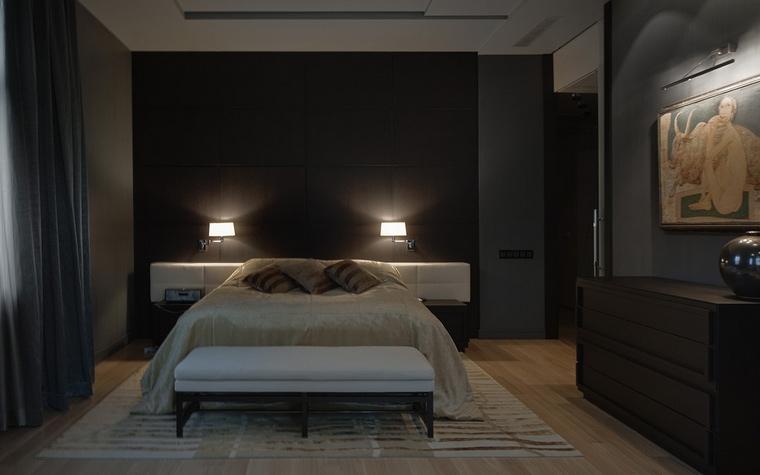 интерьер спальни - фото № 55252