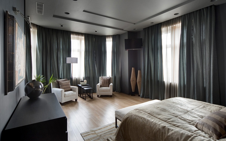 интерьер спальни - фото № 55253