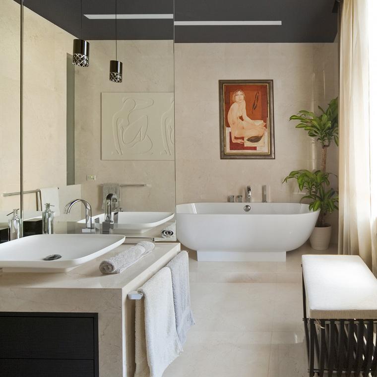 Фото № 55254 ванная  Квартира