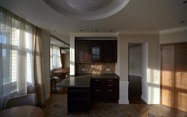 Квартира. кухня из проекта , фото №55260