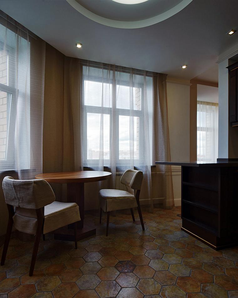 Квартира. кухня из проекта , фото №55267