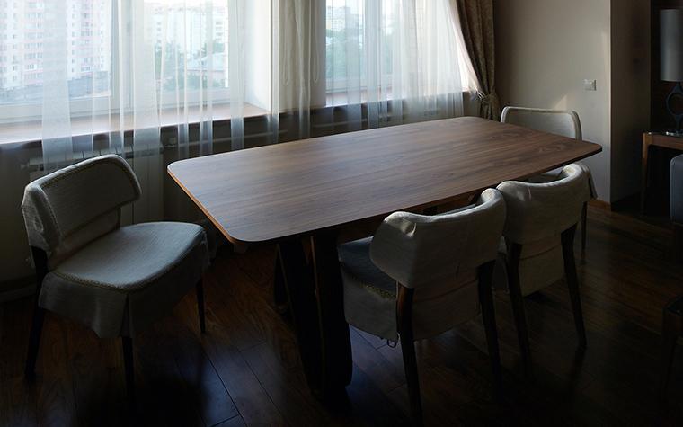 Квартира. столовая из проекта , фото №55287