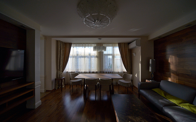 Квартира. столовая из проекта , фото №55289