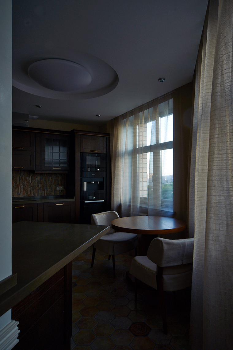Квартира. кухня из проекта , фото №55261