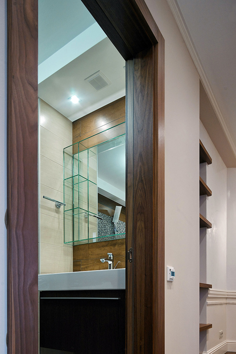 Квартира. ванная из проекта , фото №55307