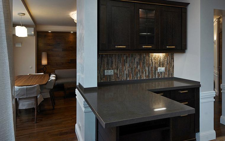 Квартира. кухня из проекта , фото №55262