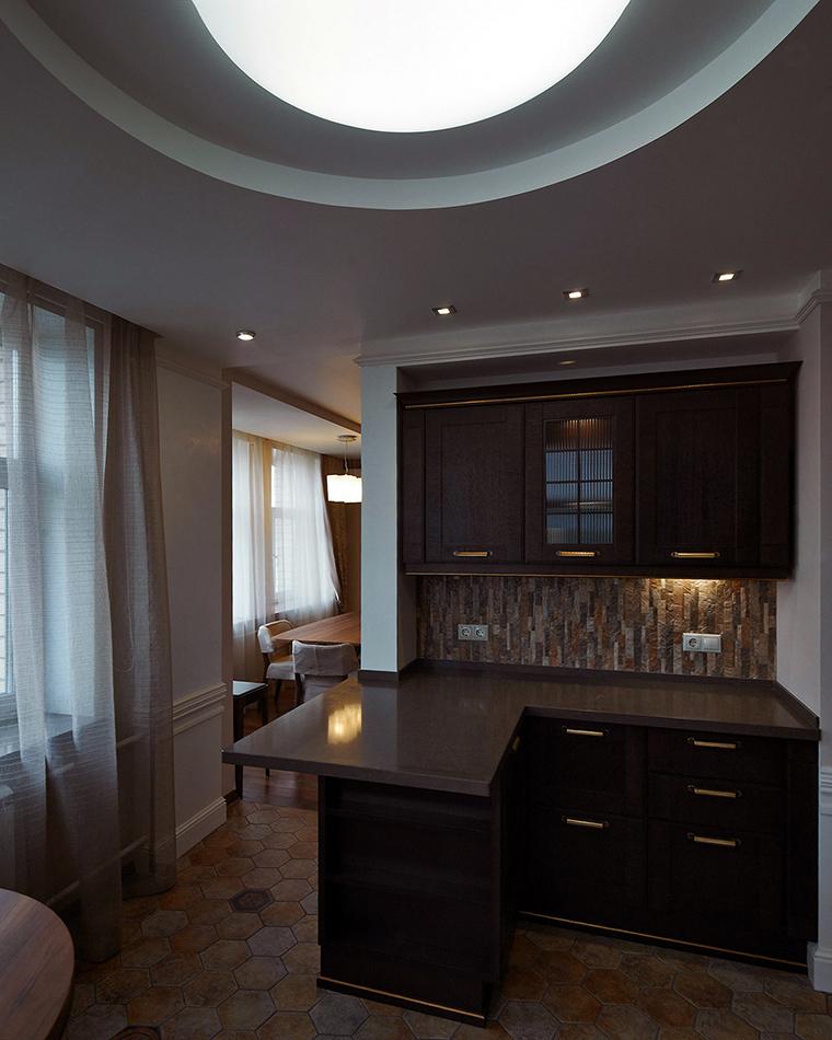 Квартира. кухня из проекта , фото №55263
