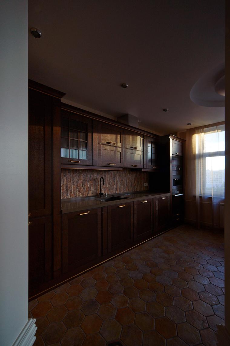 Квартира. кухня из проекта , фото №55264