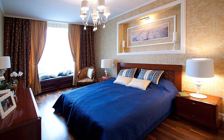 Квартира. спальня из проекта , фото №55493