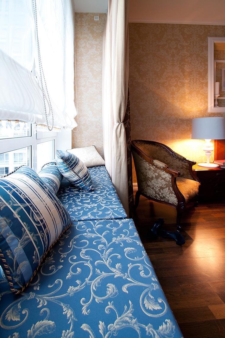 Квартира. спальня из проекта , фото №55494