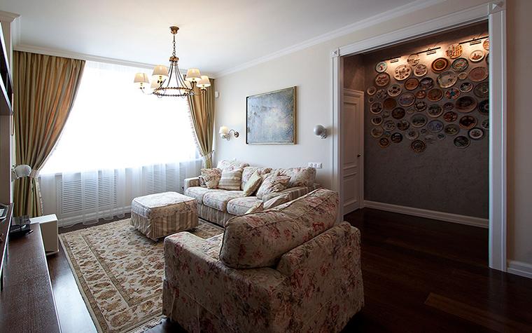 интерьер гостиной - фото № 55500