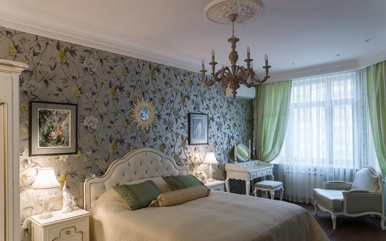 Квартира. спальня из проекта , фото №55518